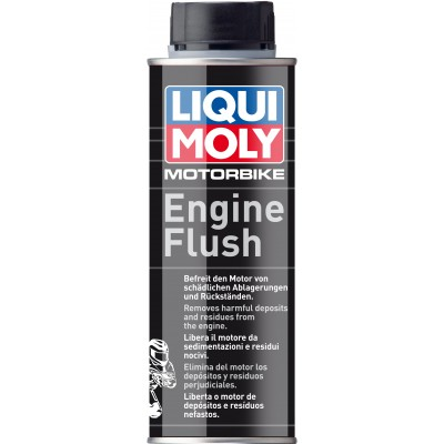 Motorbike Engine Flush | Limpiador del circuito de lubricación