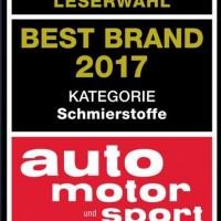 Por 7ma vez ganador de Best Brand en Auto Motor und Sport