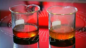 El aceite de menor calidad se empieza a evaporar mucho antes que el aceite de calidad superior.