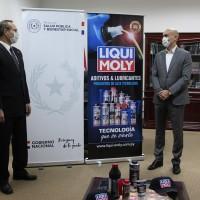 LIQUI MOLY apoya al Ministerio de Salud Publica y Bienestar Social